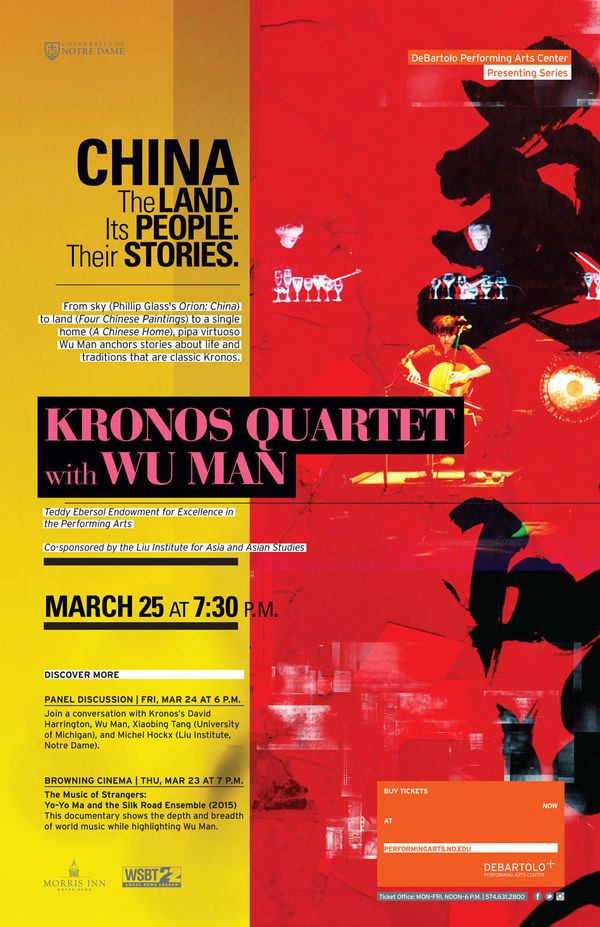 Kronos Quartet Poster Rdct