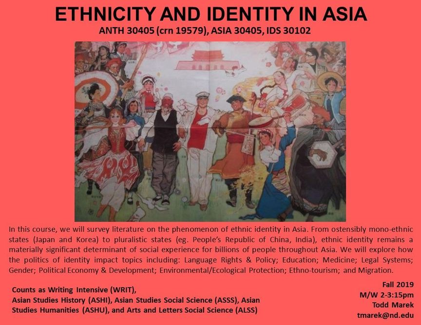 Ethnicity And Identity In Asia 2019 Marek Digital